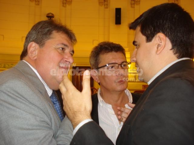 """Urruty y Rubeo insisten con el """"reconocimiento a los movilizados de Malvinas"""""""
